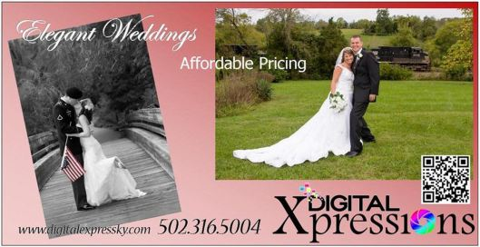 Digital Expressions Wedding Ad