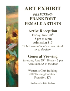 Womens Club Art Exhibit 2013