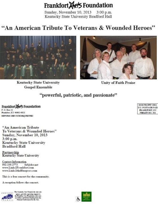 American Tribute to Veterans N Wounded Heroes-11-10-13