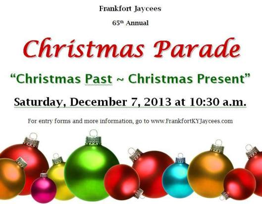 Jaycees Christmas Parade 2013