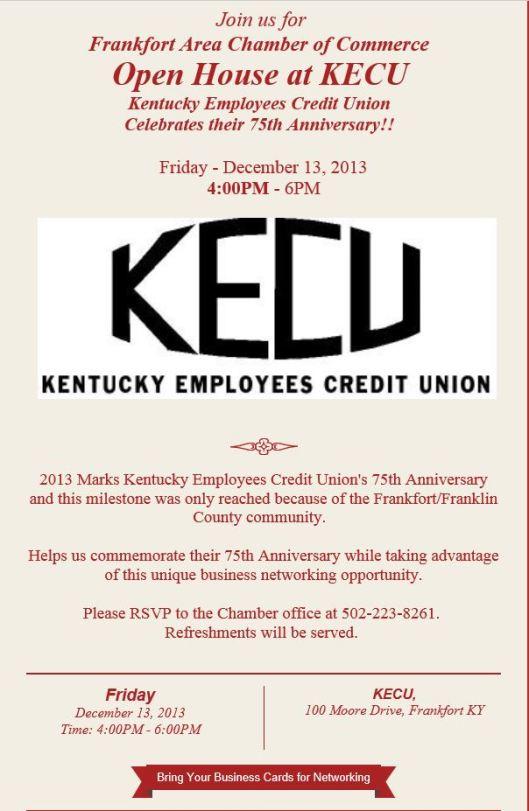 KECU 75th Anniversary Celebration 12-13-13