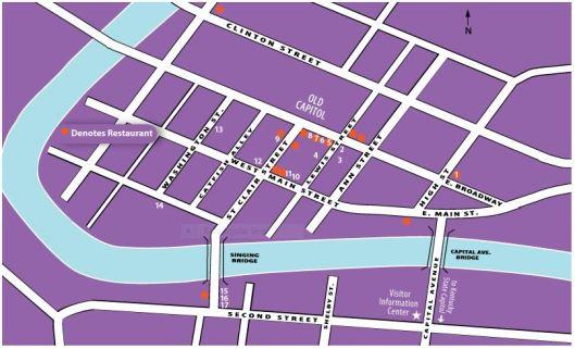ArtWalk 2-14-14 Map