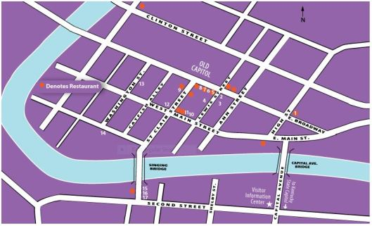 ArtWalk 2-14-14 Map