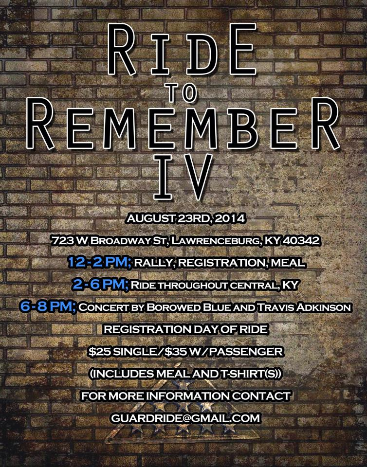 Ride to Remember 2014