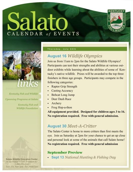 Salado August COE 2014