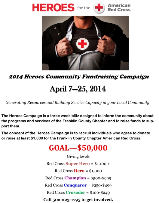 Heroes for Red Cross 2014