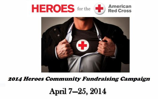 Heroes for the Red Cross Campaign