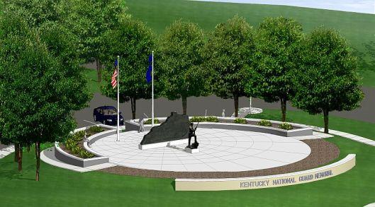 Kentucky National Guard Memorial - Artist Rendering (12 August 2013)