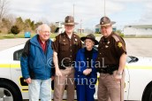 """Dorothy """"Dot"""" Cornett ges to relive being a Sheriff Deputy again with the Franklin County Sheriff Department http://wp.me/p2ONcT-8iE"""