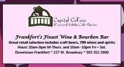 Capital Cellars Business Card