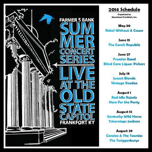Farmer's Bank Summer Concert Series 2014