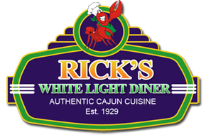 Rick's White Light Logo