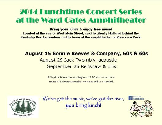 2014_Lunchtime Concert Series - August 3