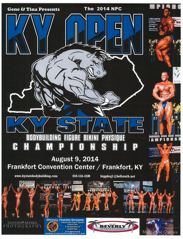 KY State Bodybuilding Open 2014
