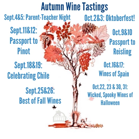 Autumn Wine Taste for Capital Cellars
