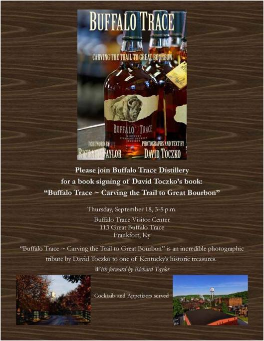 David Toczko Buffalo Trace Book Signing