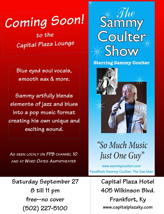 Sammy Coulter Show 9-27-14