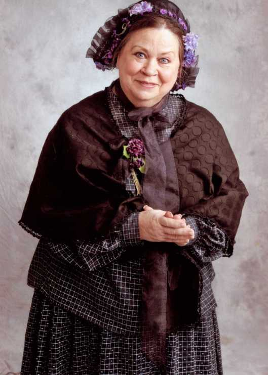 Photo Submitted - Trish Clark as Mary Todd Lincoln