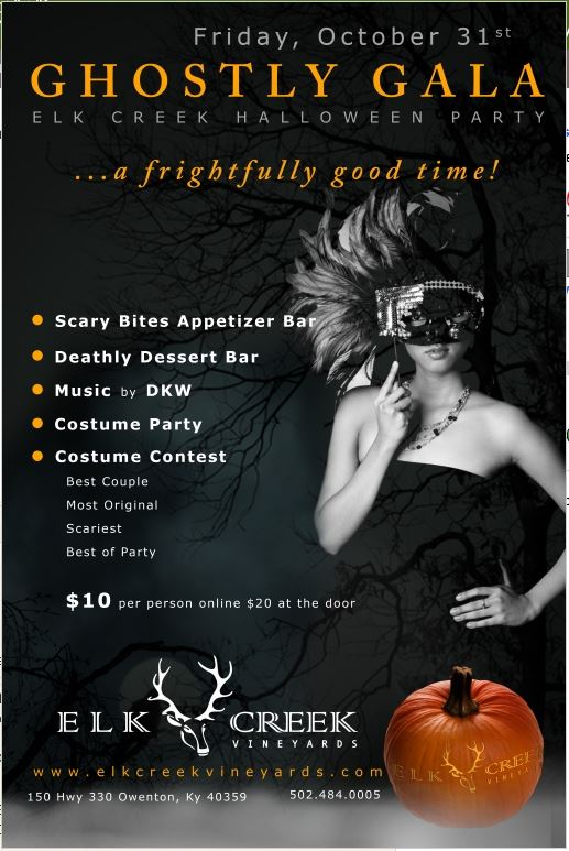 Ghostly Gala at Elk Creek Vineyards