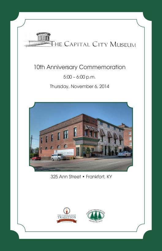 CapitalCityMuseum_10th-AnniversaryProgram-Cover
