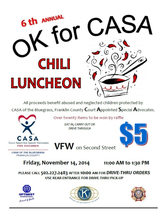 CASA Chili Luncheon 2014