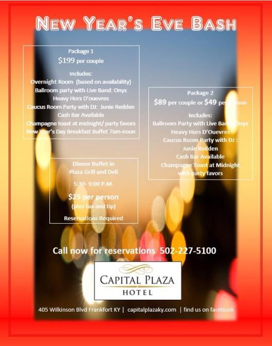 Capital Plaza Hotel New Year's Eve Bash 2014