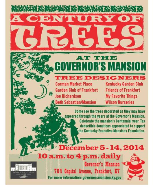 Governors Mansion - A Century of Trees 3