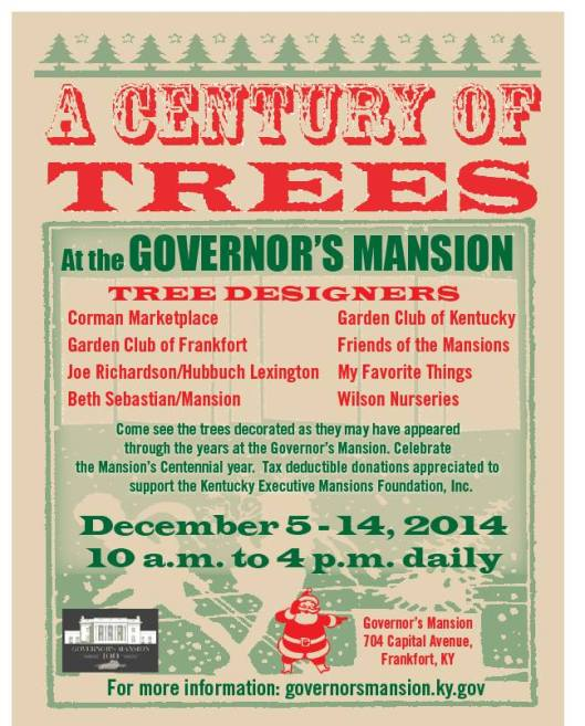 Governors Mansion - A Century of Trees