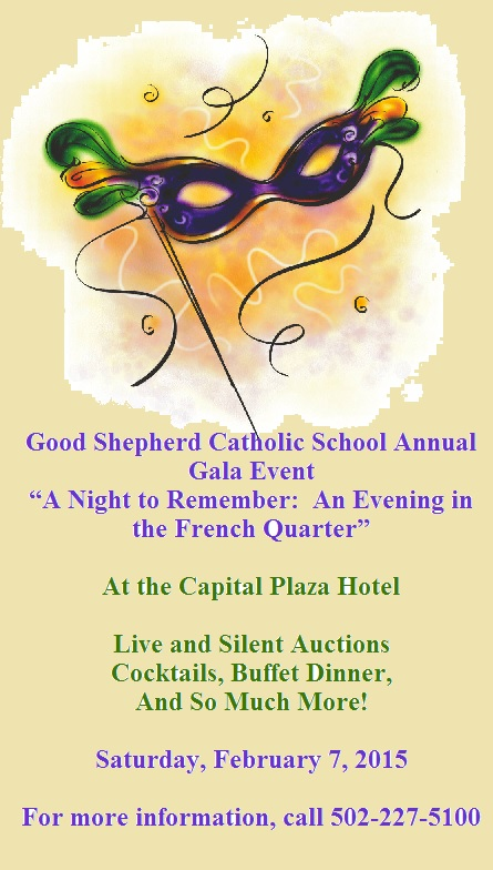 Good Shepherd Catholic School Annual Gala Event 2015