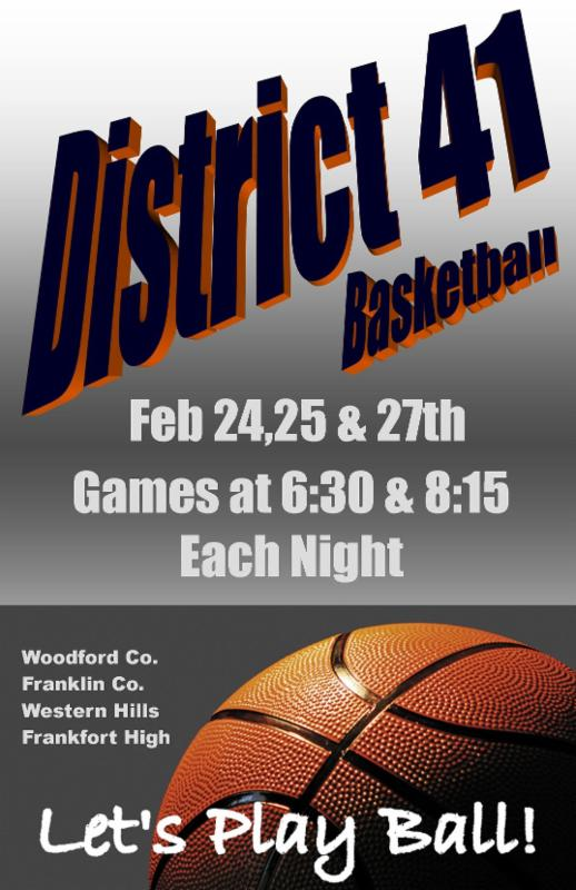 District 41 Basketball at the Frankfort Convention Center