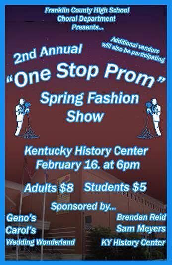 FCHS One Stop Prom Shop at the KHS - 2-16-15