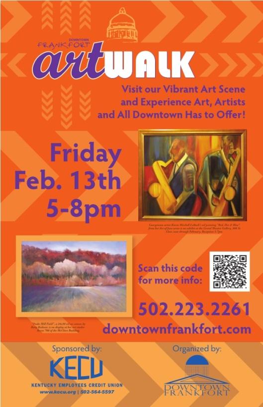 Frankfort February ArtWalk