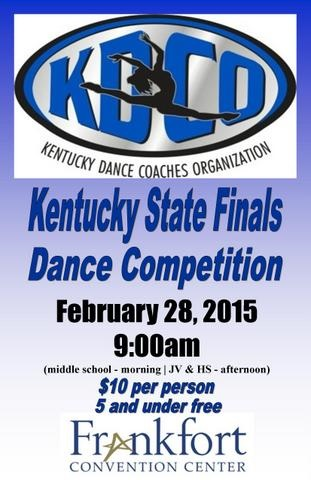 KY State Dance Competition at the Frankfort Convention Center - 2-28-15