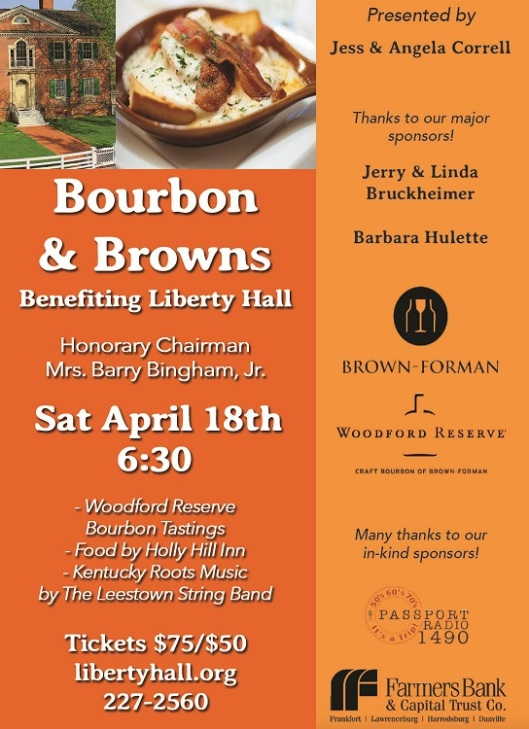 Bourbon & Browns 2015 Ad for Web