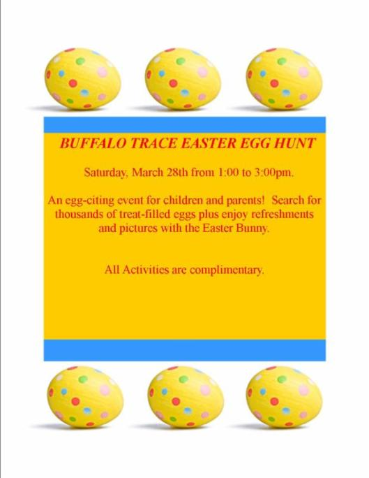 Buffalo Trace Easter Egg Hunt - 4-4-15