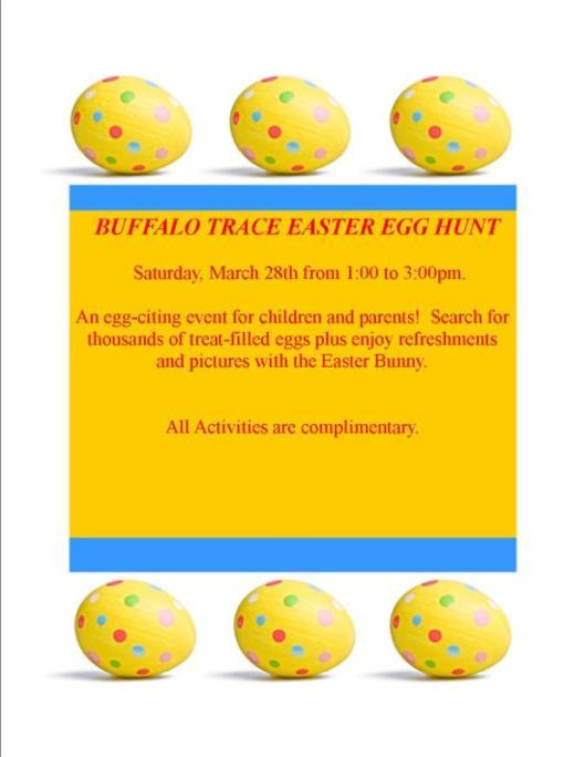Buffalo Trace Easter Egg Hunt - 4-4-15