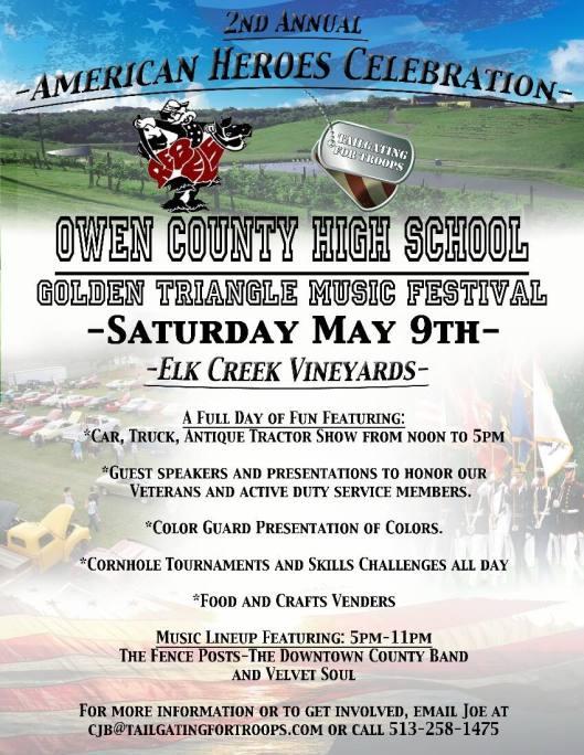 Car, Truck & Tractor Show at Elk Creek Vineyards - 5-9-15