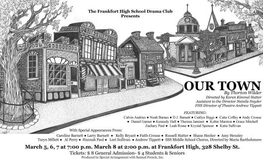 Frankfort High School Drama Club presents Our Town