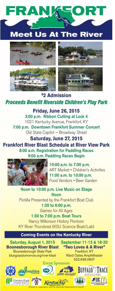 Frankfort River Blast B - Meet Us at the River - June 26-27