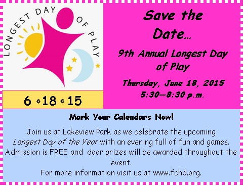 Longest Day of Play - 6-18-15