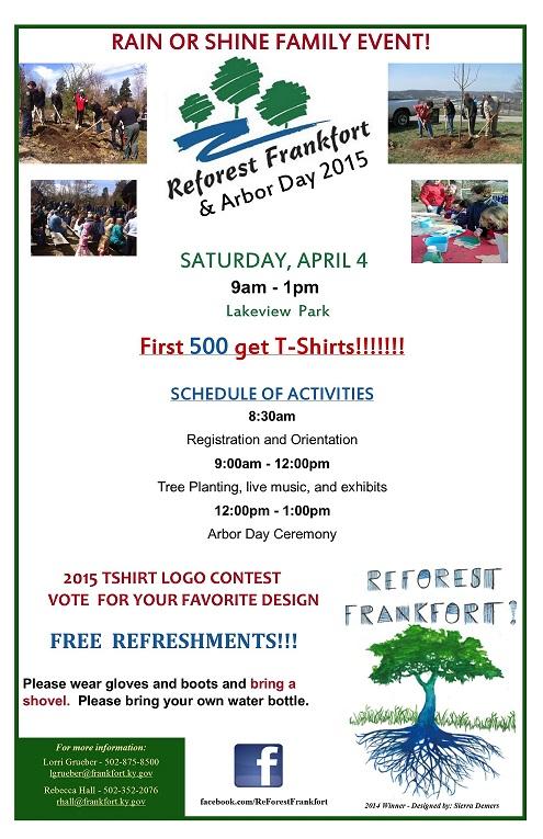 Reforest Frankfort 2015