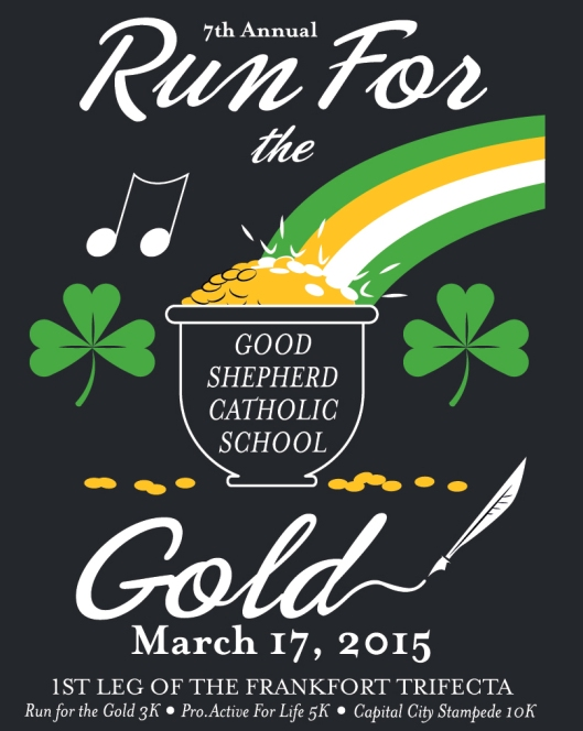 Run for the Gold 2015 - Front