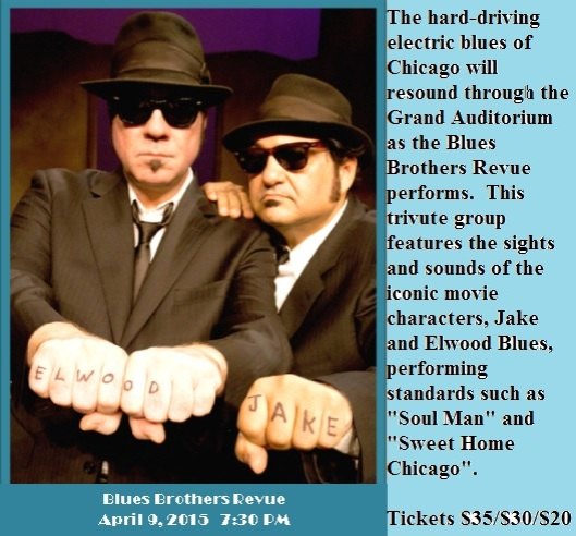 The Blues BRothers Revue - 4-9-15