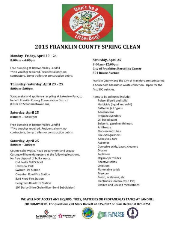 Upcoming Events in Frankfort & Franklin County