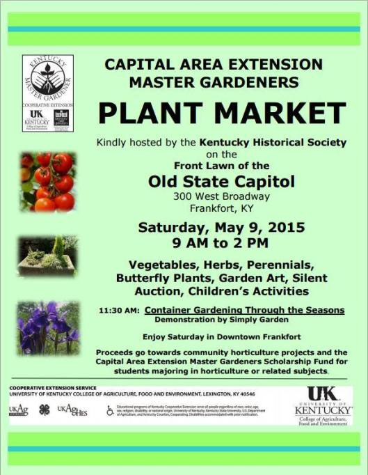 KHS Plant Market at the Old State Capitol