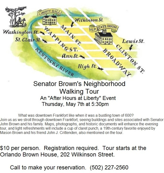 2015 Senatory Brown's Neighborhood Walking Tour