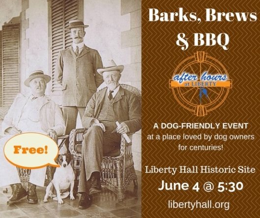 Bark & Brews at Liberty Hall - 6-4-15