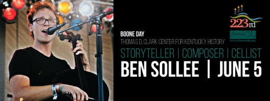 Ben Solee Concert for Boone Day - 6-5-15