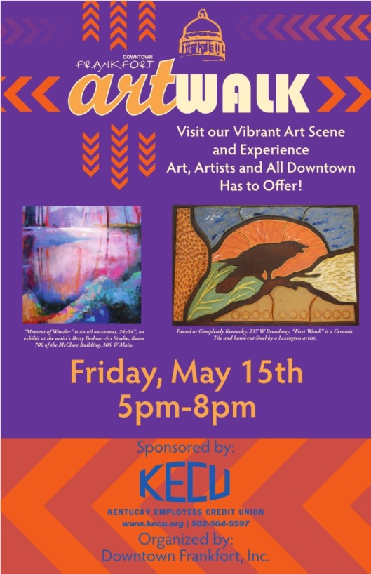 Spring ArtWalk - 5-15-15