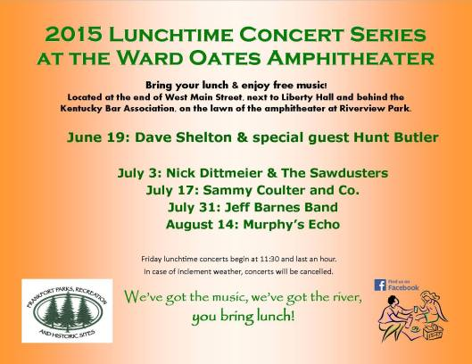 2015 Lunchtime Concerts at WOA - 2